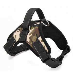 Big Dog Soft Adjustable Harness- Pet Large Dog Walk Out Harness- Crafty And Soft For Your Lovely Beast