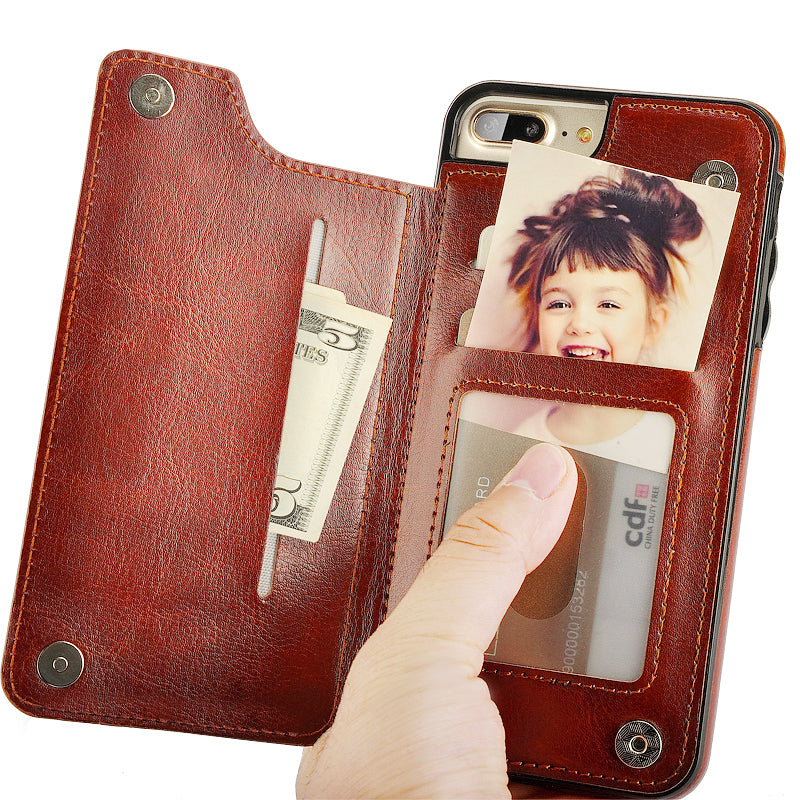 For iPhone 6 Case Luxury PU Leather Silicone- ON SALE GET ONE TODAY