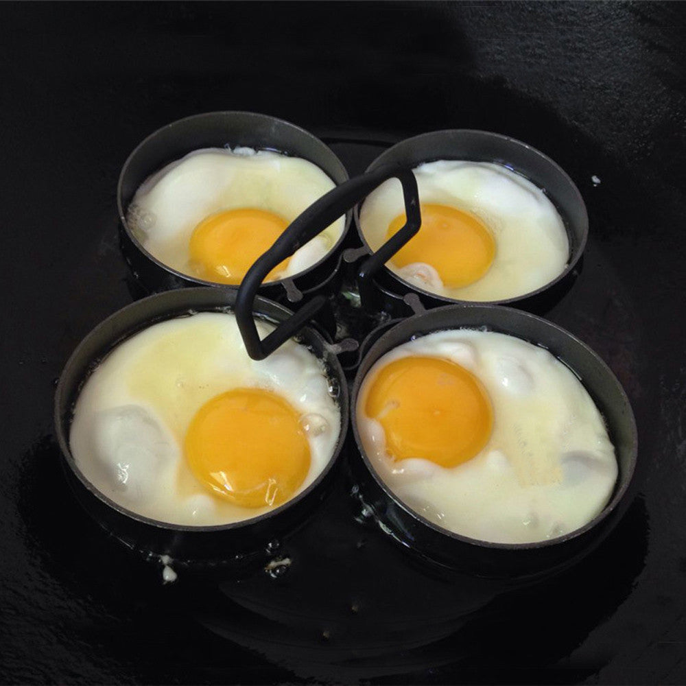 4-Piece Egg Pancake Ring Set 995 Nonstick Removable Rings - ON SALE TODAY-GET ONE
