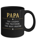PAPA THE PROVIDER AND  THE BEST FRIEND-MUG- SPECIAL EDITION ON SALE TODAY