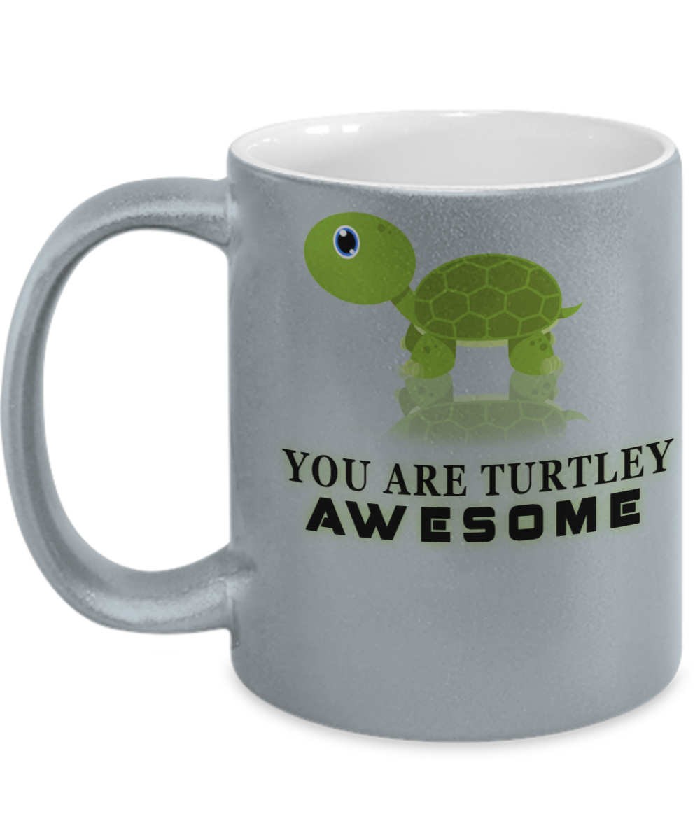 TURTLEY AWESOME MUG- SPECIAL EDITION = ON SALE TODAY - GET YOURS NOW