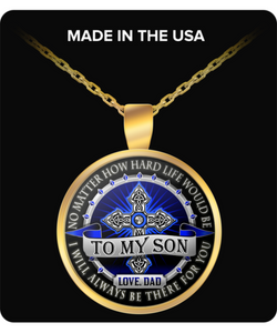 I LOVE MY SON FOREVER- TREASURE THAT SPECIAL GIVEN SOUL- PERFECT NECKLACE- ON SALE TODAY GET ONE NOW