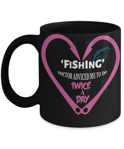 Fishing Advice- some Times Doctor Require  - Great shirt With Humor