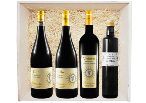 "Gift Box ""Wines & Oil"""