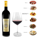 VICTORES Sangiovese Superiore 2014 Food match