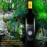 VICTORES Sangiovese Superiore 2015 crystal rocks power and secrecy
