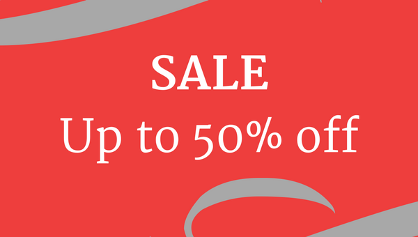 Enjoy up to 50% off in our January Sale