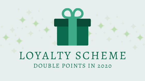 Double Loyalty Points for All