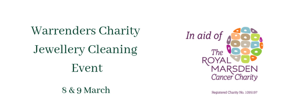 Charity Jewellery Cleaning Event in aid of The Royal Marsden