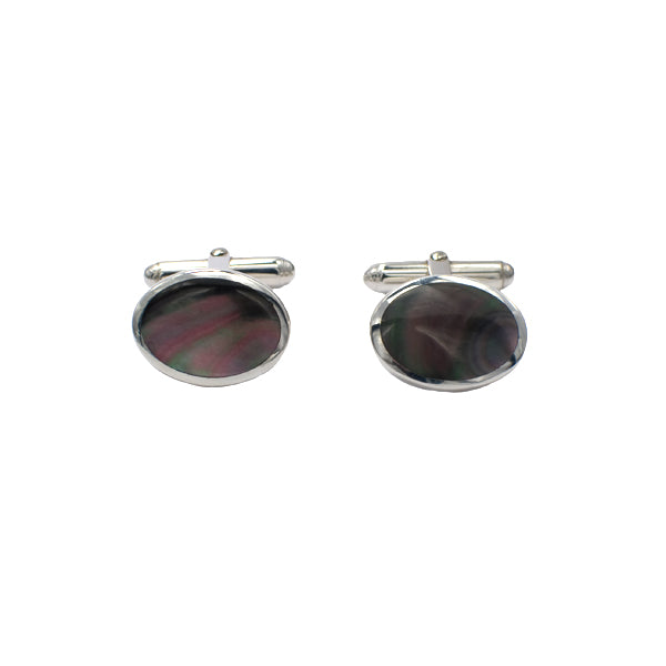 Silver Mother of Pearl Cufflinks