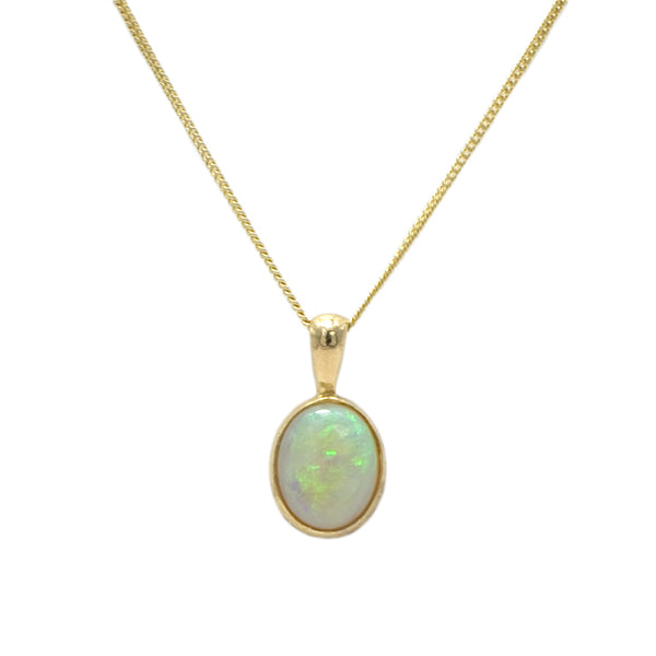 9ct Opal Necklace