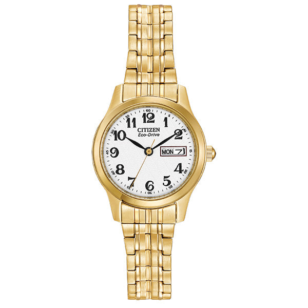 Ladies Eco-Drive Day-Date Watch