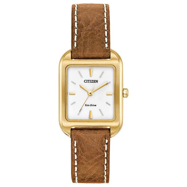 Ladies Eco Drive Strap Watch