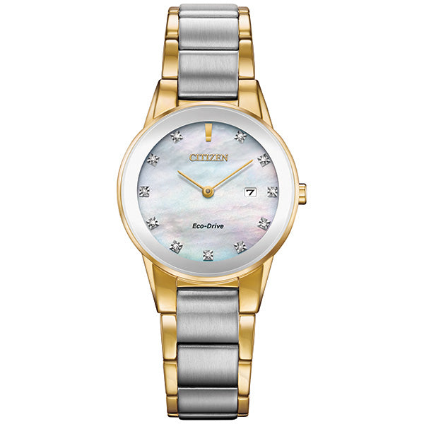 Ladies' Eco-Drive Axiom Diamond Watch