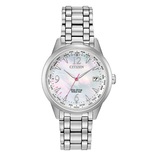 Ladies' Eco-Drive World Time