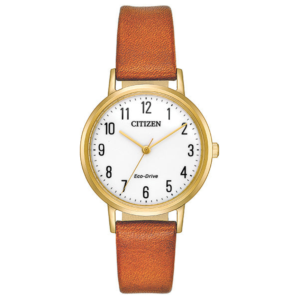 Ladies' Eco Drive Strap Watch