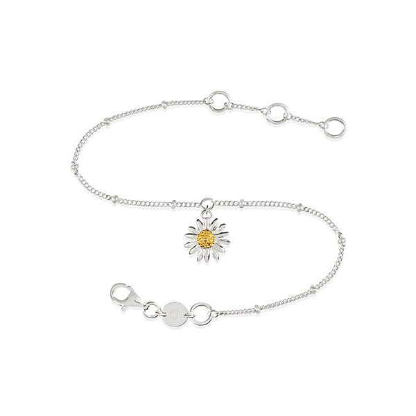 English Daisy Bobble Bracelet