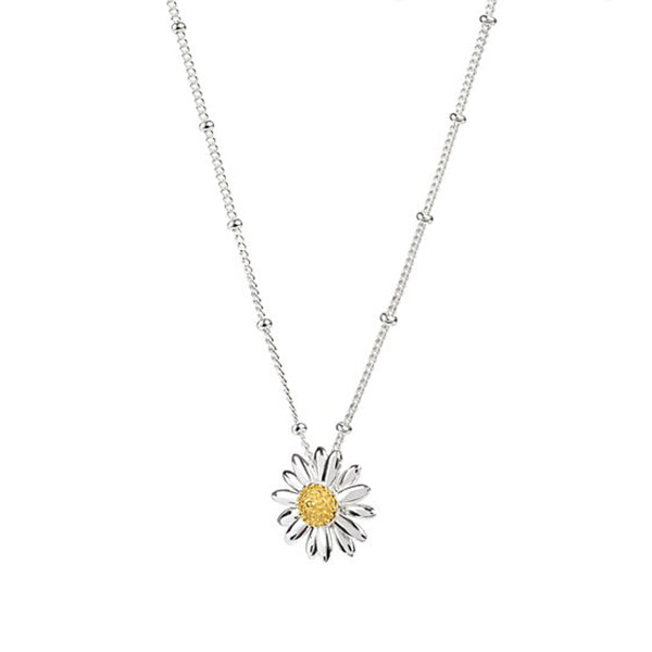 15mm English Daisy Bobble Necklace