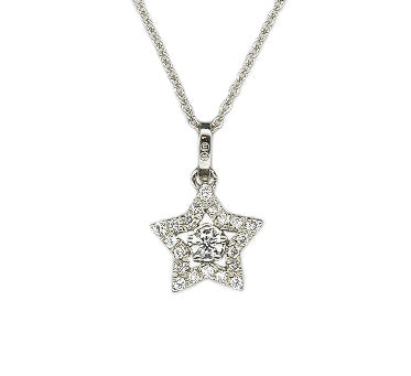 18ct Star Diamond Necklace