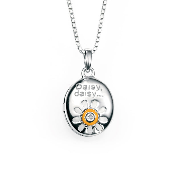 Daisy Locket & Chain