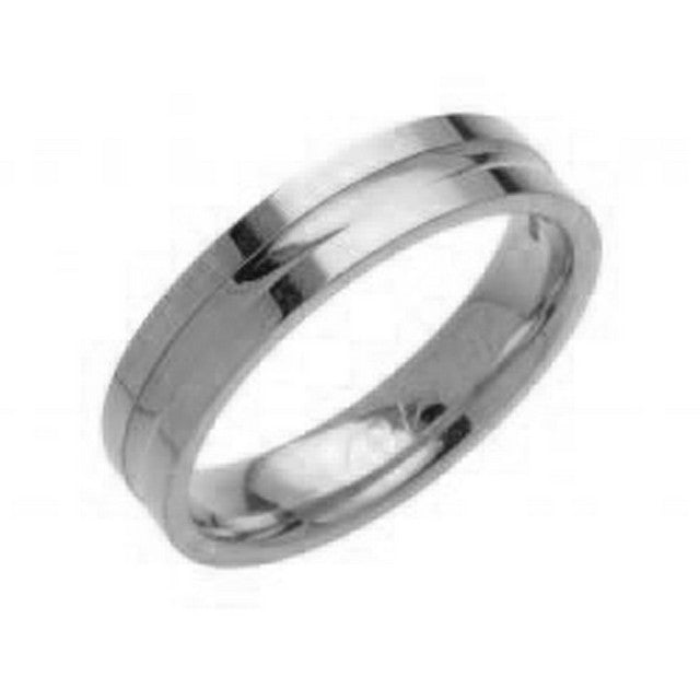 Palladium 6mm Wedding Ring