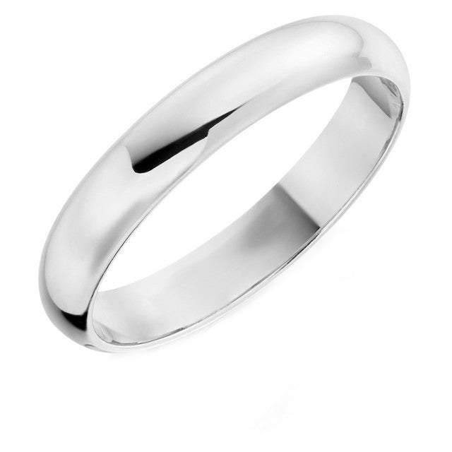 Palladium 4mm Wedding Ring