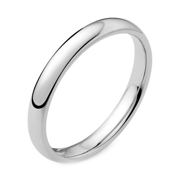 Palladium 2.5mm Wedding Ring