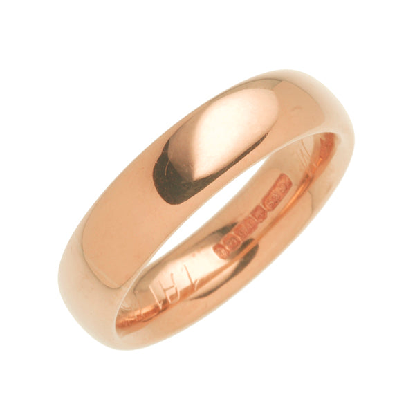 18ct Rose Gold Wedding Ring