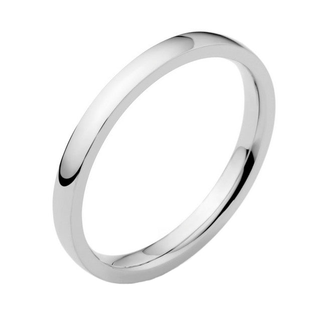 Platinum 2.5mm Wedding Ring