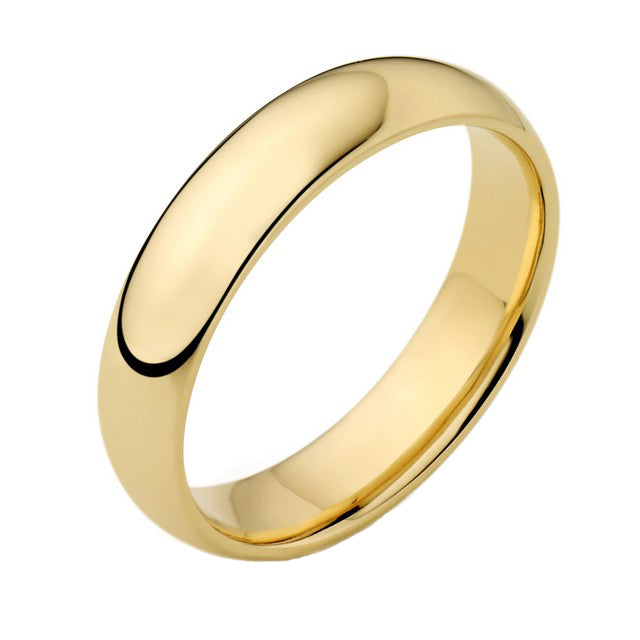 18ct Gold 5mm Wedding Ring