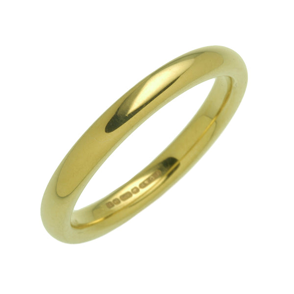 18ct 2.5mm Wedding Ring