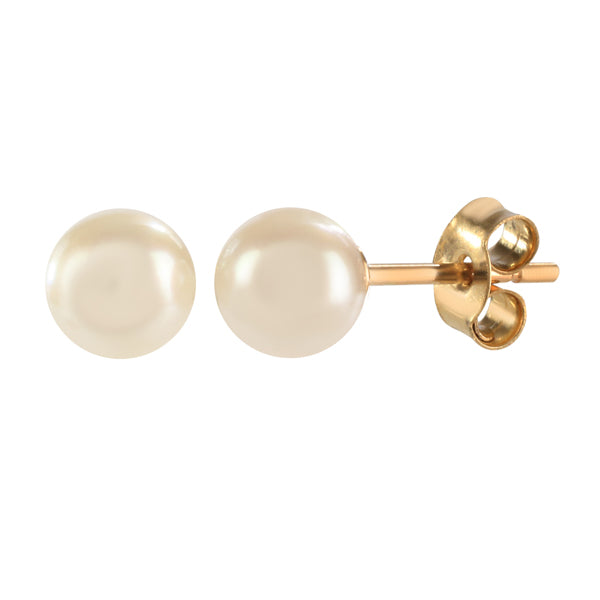 9ct Gold Cultured Pearl Earrings