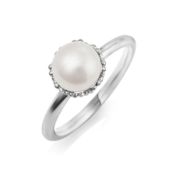 Silver Pearl Emma-Kate Ring