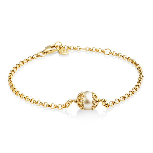 Silver Gold Plated Emma Kate Bracelet