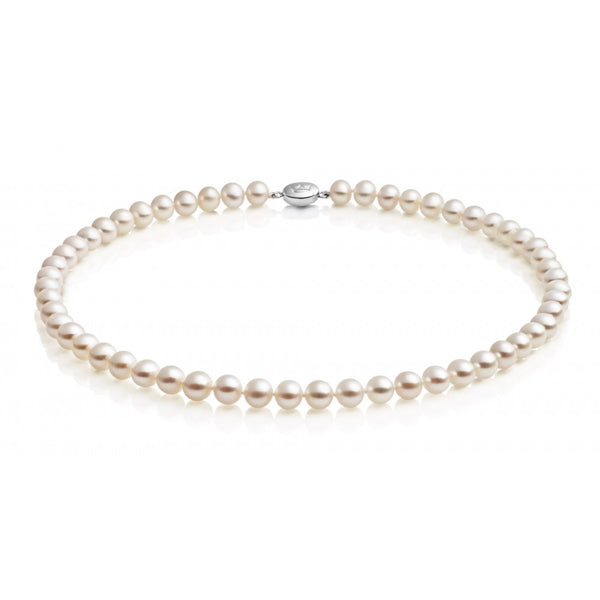 Jersey Pearl Single Row Necklace