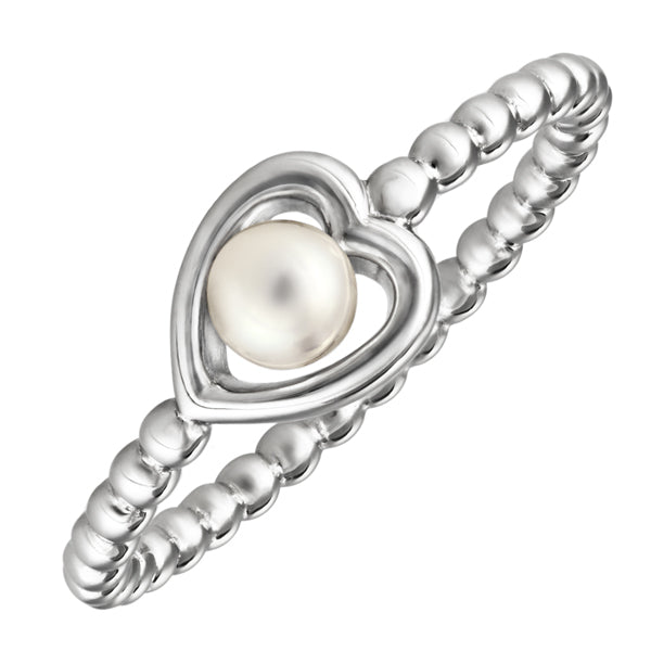Silver Kimberley Selwood Pearl Ring