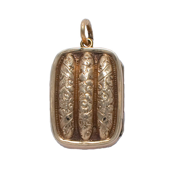 Vintage Rectangular Locket
