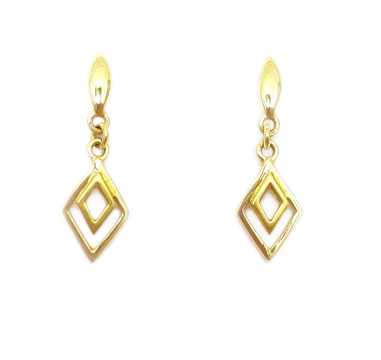 9ct Drop Earrings
