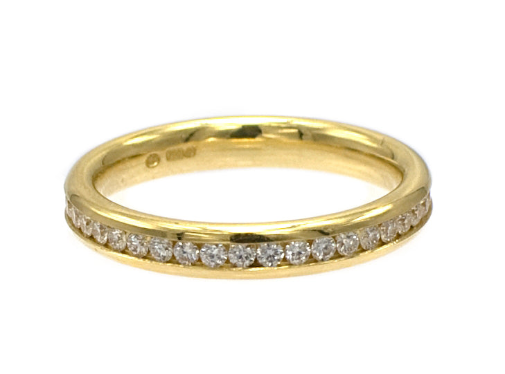 18ct Diamond Full Eternity Ring