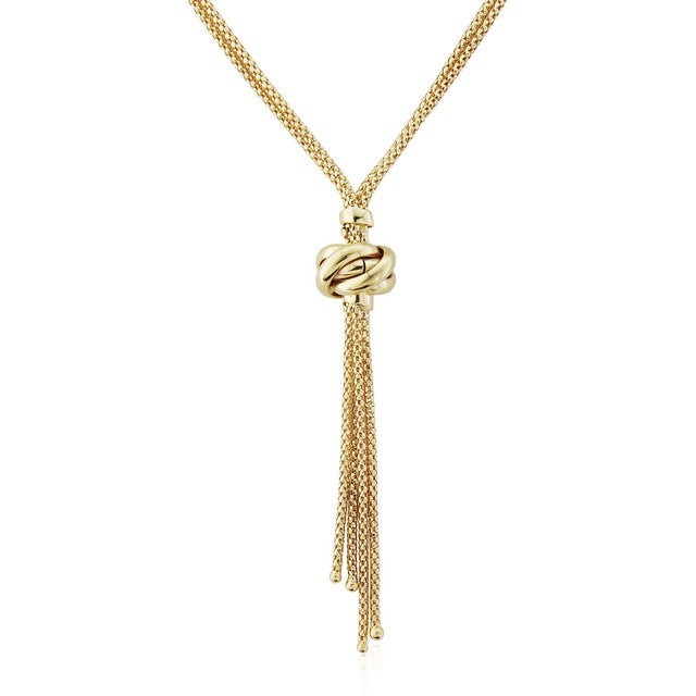 9ct Gold Tassle Necklace