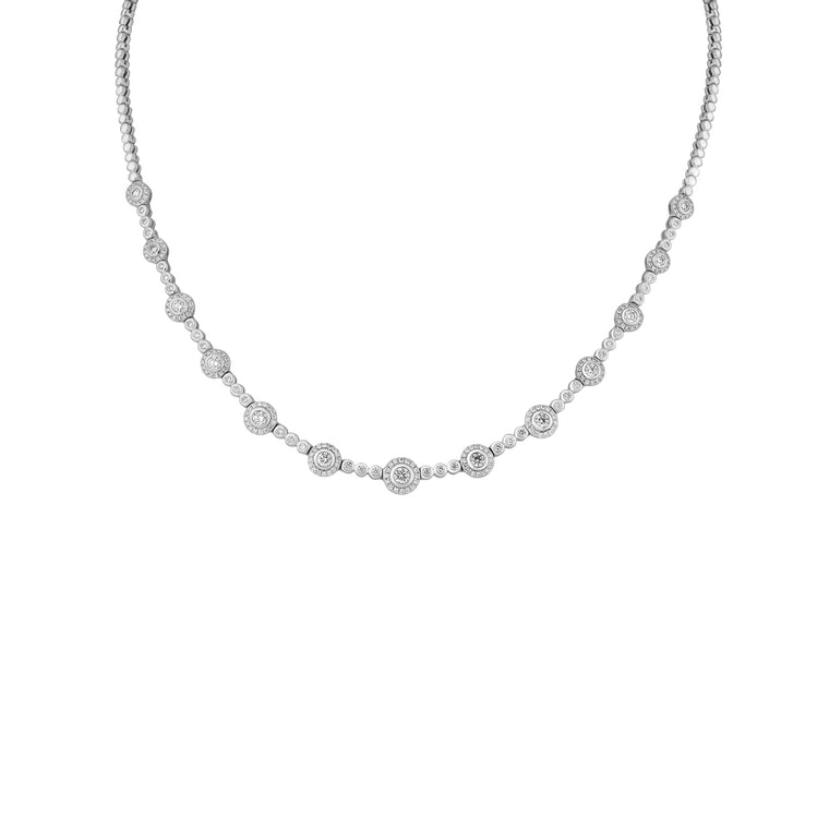 18ct Diamond Necklace