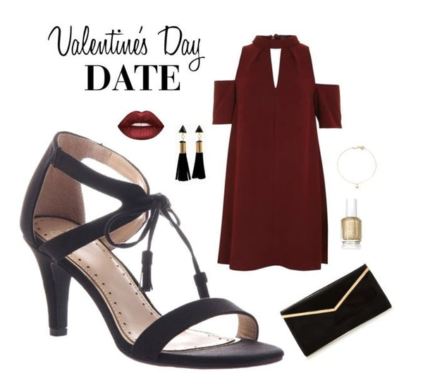 Got your Valentine's Day looked planned? Here's some great inspiration from Madeline Shoes.