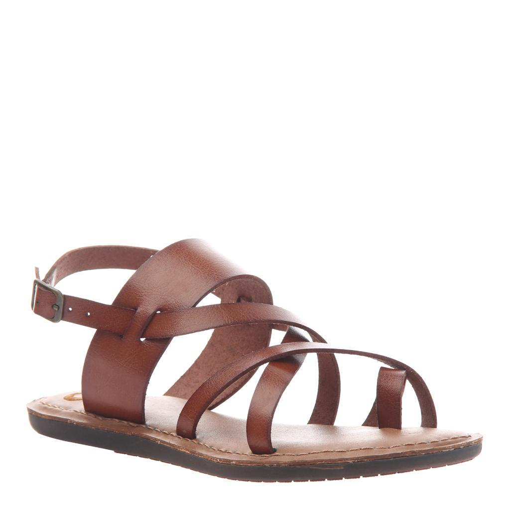 12e7ef050856 Divania 2 in Medium Brown Flat Sandals