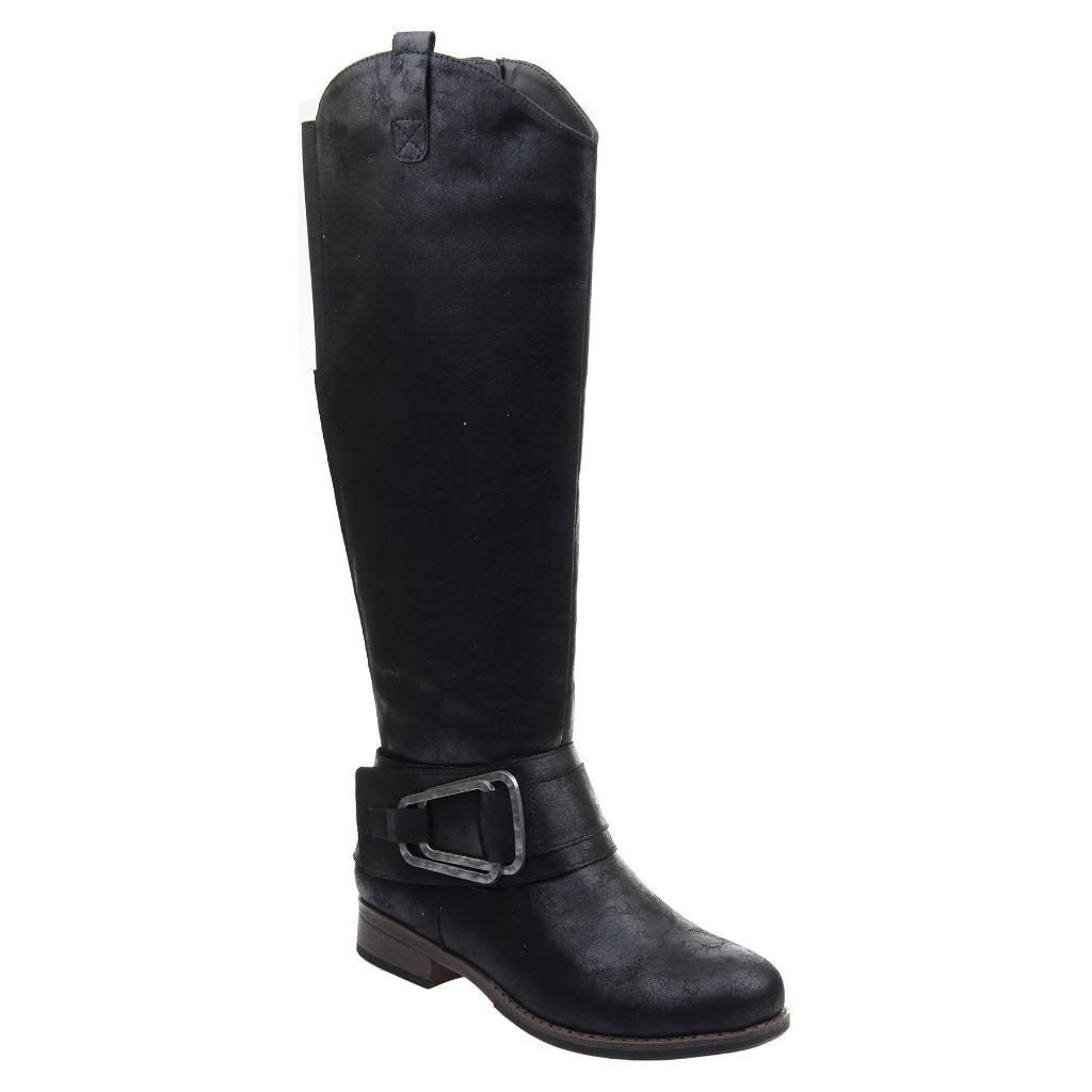 aec39cfe51b Shuffle in Black Knee High Boots