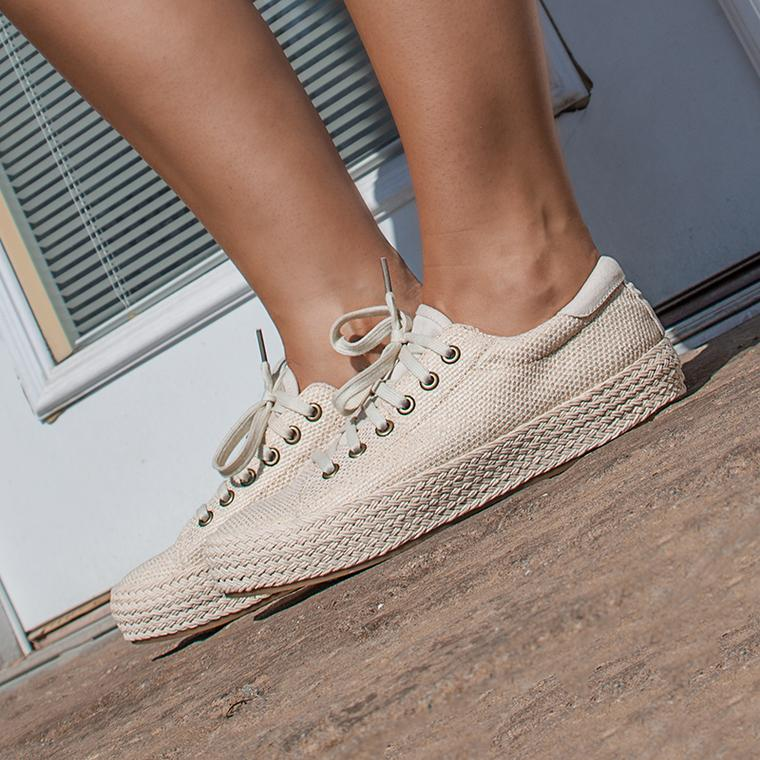 Now Trending: NEW ESPADRILLE SNEAKS