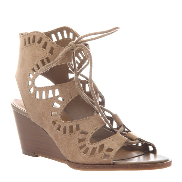 MORNING GLORY in DESERT Wedge Sandals