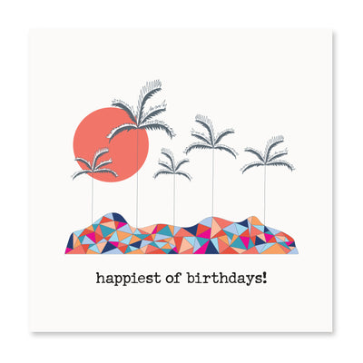 Set of 6- Happiest Of Birthdays!