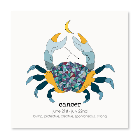Cancer - Greeting Card