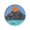 "4"" Hawaii Volcanoes  Vinyl Sticker"