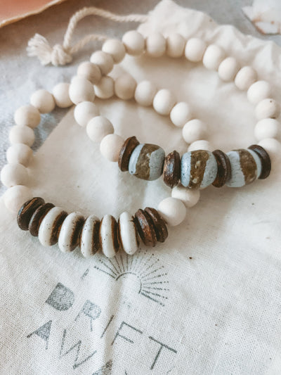 The Happy Sea x Driftaway Jewelry Recycled Bracelet Stack